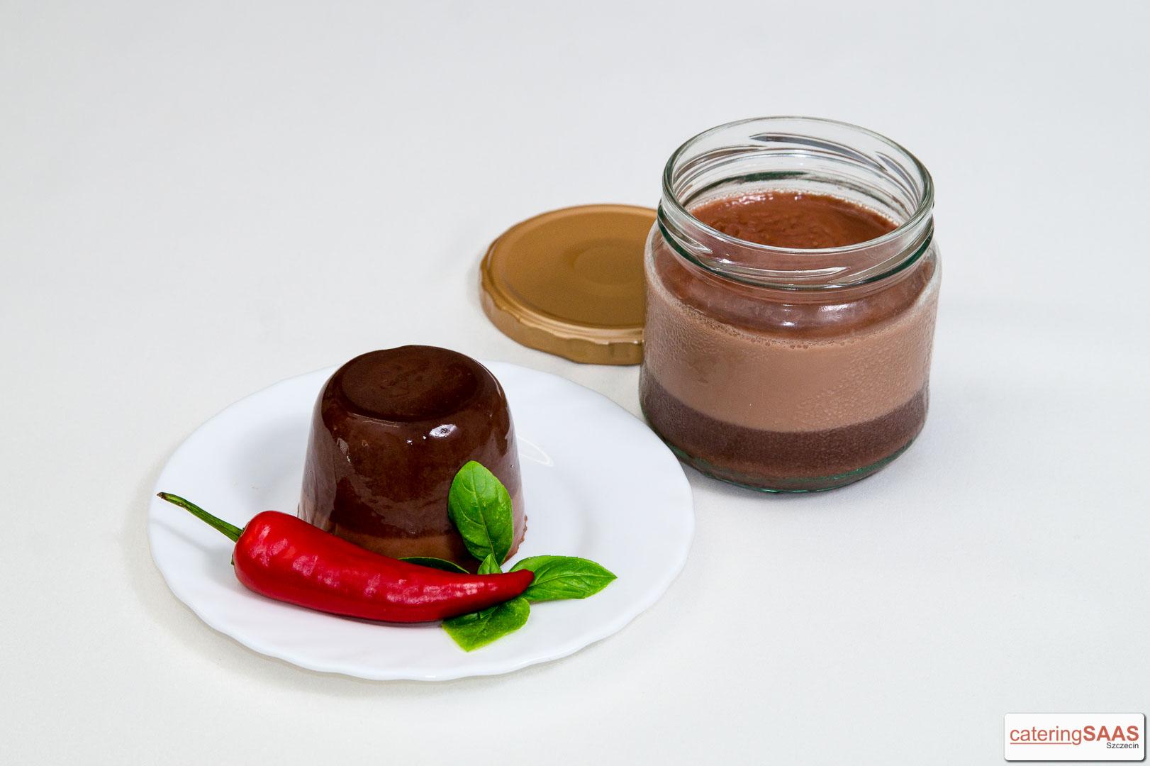 Saas czekoladowy z chili