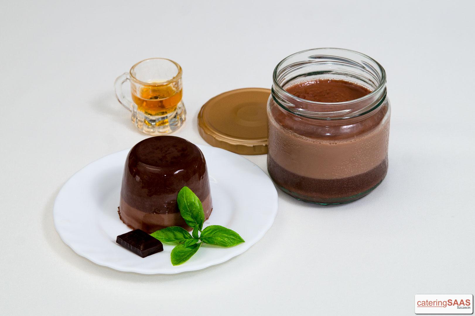 Saas czekoladowy z rumem